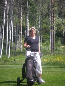 Världens bästa golf-Ann